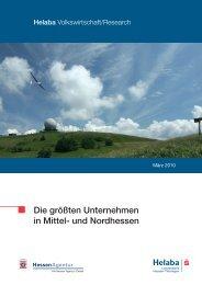 Die größten Unternehmen in Mittel- und Nordhessen - HA Hessen ...