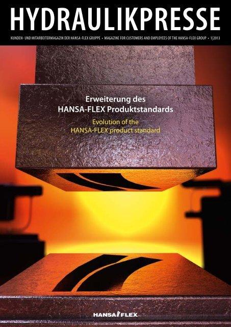 HYDRAULIKPRESSE 1/2013 – PDF einseitig - Hansa Flex