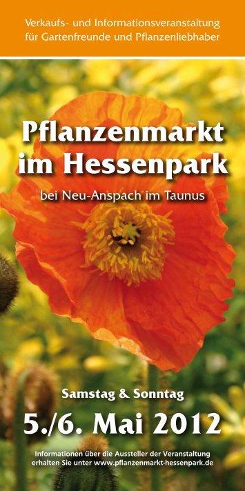 Pflanzenmarkt im Hessenpark 5./6. Mai 2012