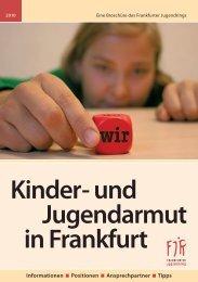 Kinder- und Jugendarmut in Frankfurt - Frankfurter Jugendring