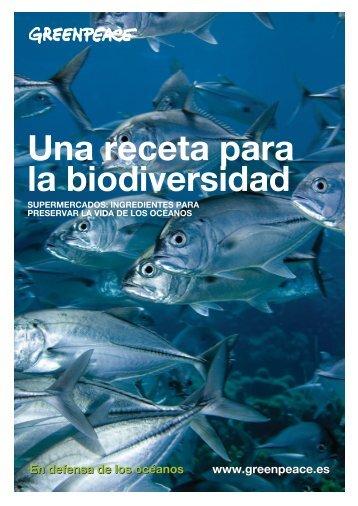 Una receta para la biodiversidad - Greenpeace