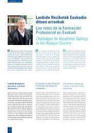 Los retos de la Formación Profesional en Euskadi - Hetel