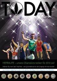 HERBALIFE – unsere Champions tanken für 2012 auf