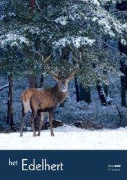 Winter2010 45e jaargang - Vereniging Het Edelhert