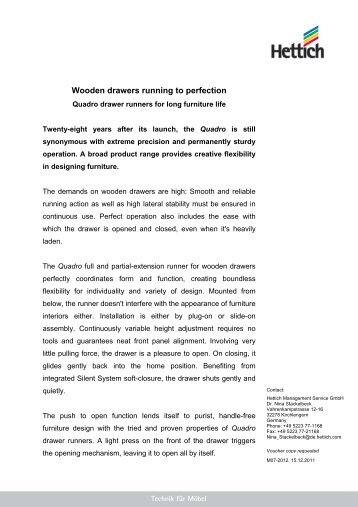 Article as PDF - Hettich