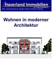 Beratung / Verkauf: Planung / Bauausführung - Haverland ...