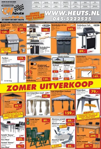 ZOMER UITVERKOOP - Heuts