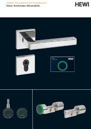 eLOCK | Das elektronische Schließsystem Sicher ... - HEWI