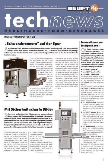 technews 2011 Pharma + Food + Beverages - Heuft.com