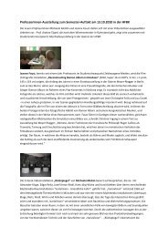 Professorinnen-Ausstellung zum Semester-Auftakt am 13.10.2010 in ...