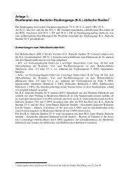 Anlage 1 - Hochschule für Jüdische Studien Heidelberg