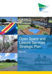 Open Space and Leisure Services Strategic Plan - Gosford City ...