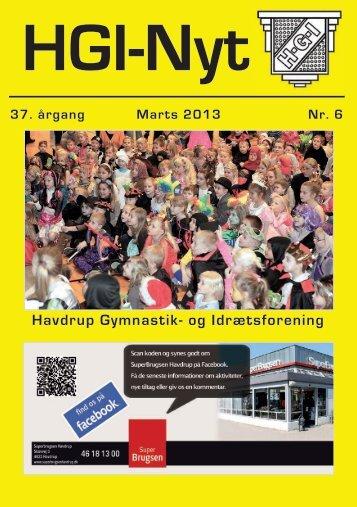 37.årgang - marts 2013 - nr. 6 - HGI Nyt