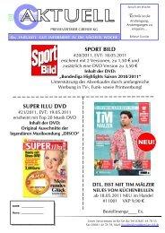 SPORT BILD SUPER ILLU DVD - Pressevertrieb Greiser KG