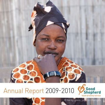 Annual Report 2009-2010 - Good Shepherd Youth & Family Service