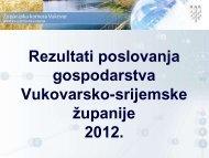 Rezultati poslovanja gospodarstva 2012-prezentacija