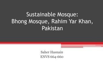 Sustainable Mosque - Greendesignetc.net