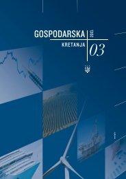 Gospodarska kretanja 03/2013 (pdf) - Hrvatska gospodarska komora