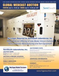 Auction Brochure - Liquidation Auction - Equipment Auctions  HGP ...