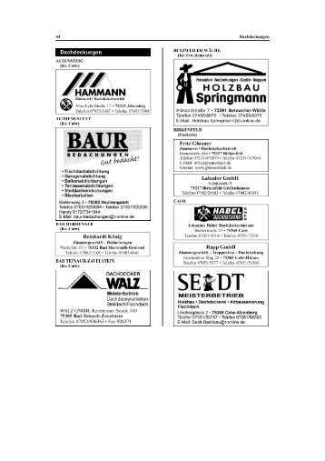44 Containerdienst — Dachdeckungen - Hgp.de