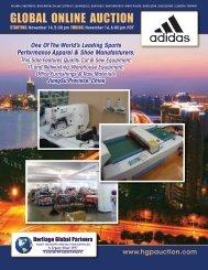 sewing machines - Liquidation Auction - Equipment Auctions  HGP ...