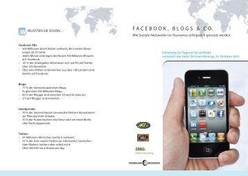 FACEBOOK, BLOGS & CO. - und Gastwirteverband
