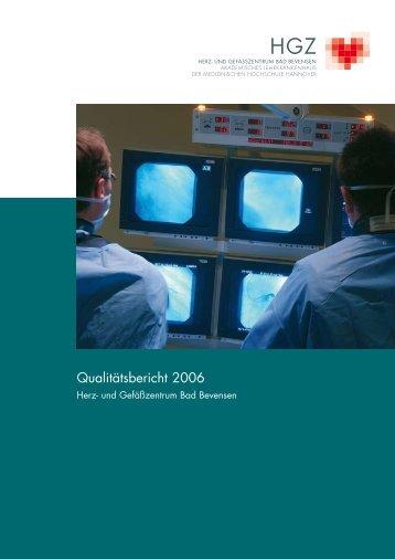 Qualitätsbericht 2006 (PDF, 1.74 MB) - Herz