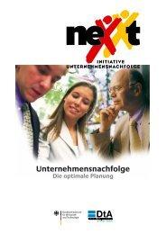 nexxt - Initiative Unternehmensnachfolge