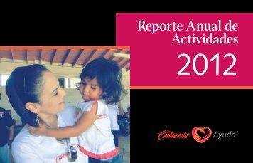 Reporte de Actividades 2012 - Grupo Caliente