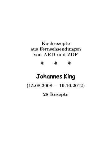 Johannes King - Hhollatz.de
