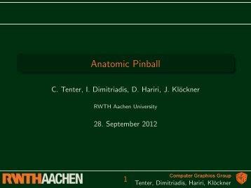 Anatomic Pinball - RWTH Aachen University