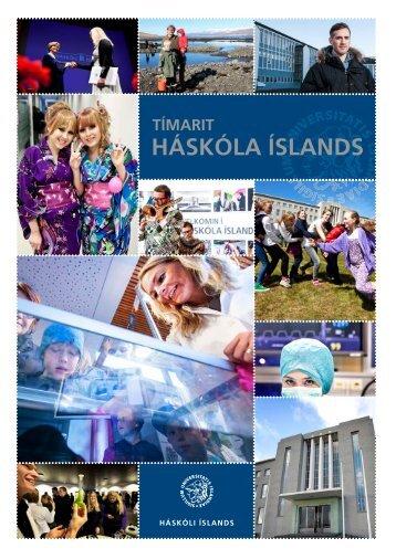 Tímarit Háskóla Íslands 2013 - Háskóli Íslands