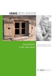 Vieux bois 3 plis - HIAG Handel AG