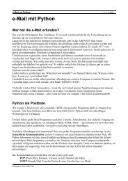 e-Mail mit Python - HIB