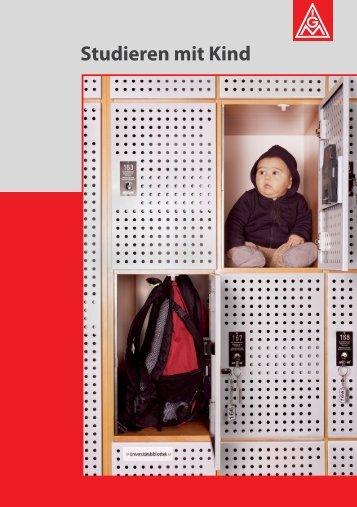 IGM - Broschüre: 'Studieren mit Kind' - TU Dortmund