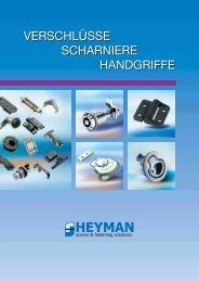 Kompressionsverschlüsse mit einstellbarem Anpressdruck - Heyman