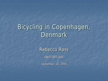 Bicycling in Copenhagen, Denmark - Green Design Etc