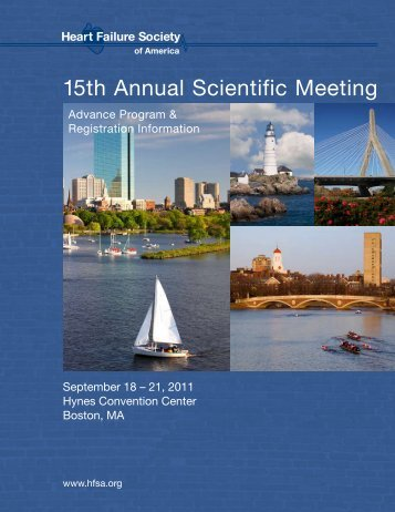 15th Annual Scientific Meeting - Heart Failure Society of America