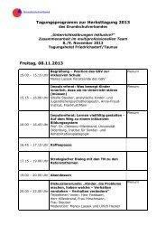 Programm - Grundschulverband