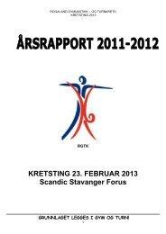 2012 Årsrapport.pdf - Norges gymnastikk og turnforbund