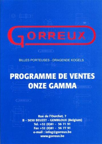 BILLES PORTEUSES - DRAGENDE KOGELS - Gorreux