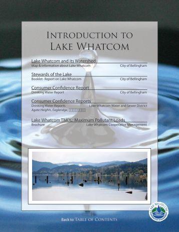 Introduction to Lake Whatcom - City of Bellingham, WA