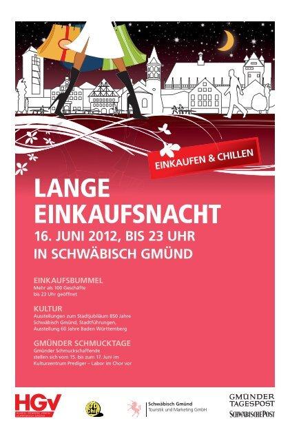 Lange Einkaufsnacht Gmünd - Schwäbische Post