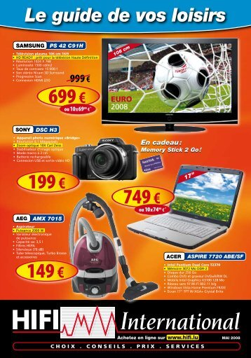 Caméra numérique - Hifi International