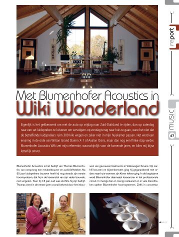 Met Blumenhofer Acoustics in - Amazon S3