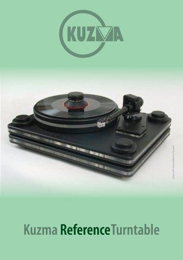 Kuzma Turntable Reference - Audiofreaks.co.uk