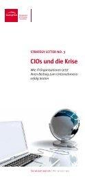 CIos und die Krise - BearingPoint