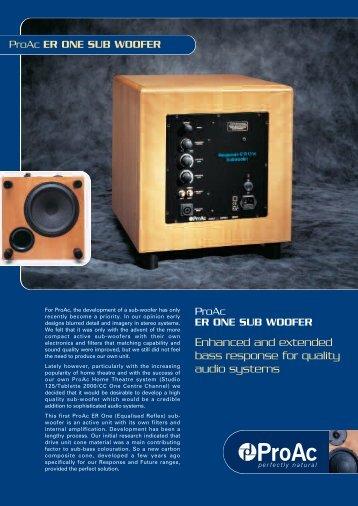 ProAc_ER Sub_Leaflet_9/9/02 - Hifi Gear