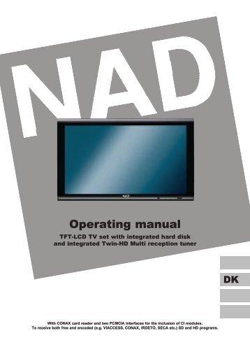 Operating manual - Hi-Fi Klubben