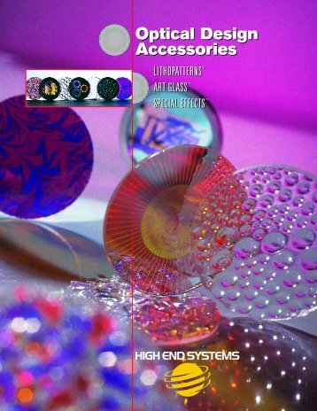 Optical Design Accessories - High End Systems